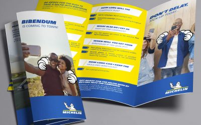 DL Z-fold Leaflet: Michelin